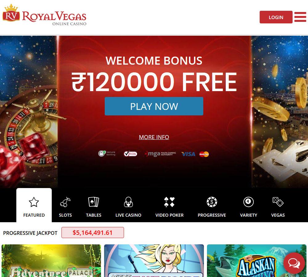 Royal Vegas - Casino Gurus